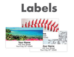 Shop Address Labels